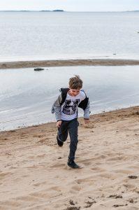 Semester 2017, Uleåborg (Oulo). Har man mycket spring i benen kan man ju, jo, springa lite...