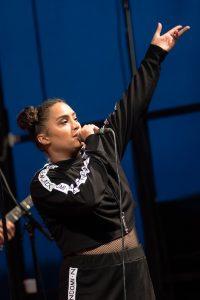 Naomi Pilgrim på Musikens makt i Luleå.