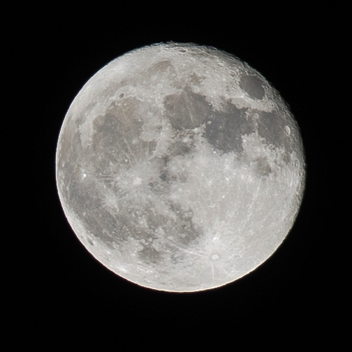 Supermåne i Sävast