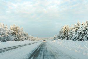 Vackert som ett vykort hela vägen mellan Boden och Jokkmokk denna dag.