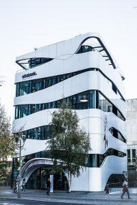 Ottobock, Berlin. Snygg och lekfull byggnad!