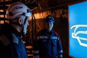 LKAB Infomine, besöksgruva i Kiruna. Ett stort tack till guiden André!