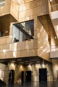 Kirunas nya stadshus, det känns lite som ett Treehotel fast inomhus!