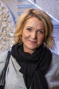 Kattis Ahlström, andra parten i uppsättningen Let´s talk.