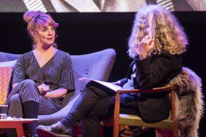Elin Jäderström och Marianne Söderberg bollar tankar, inspiration, idéer och driv.