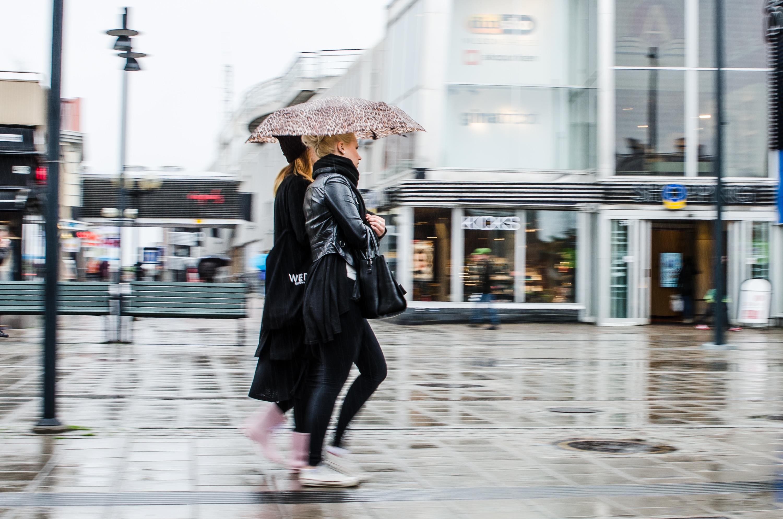 Kompisar. Shopping, Luleå.