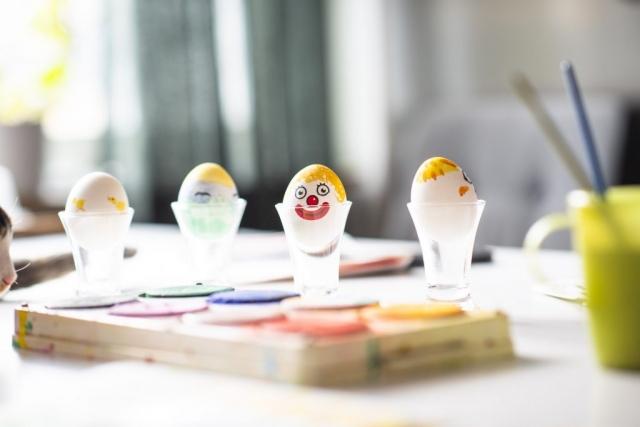 Några färdiga påskägg!