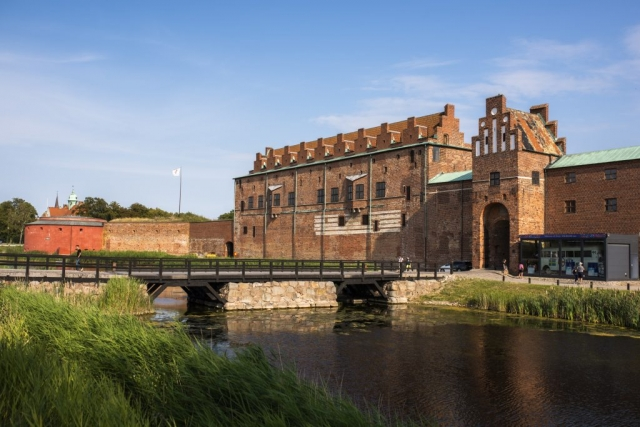 Malmö slott. Känns lite tamt efter Vadstena och Uppsala slott!