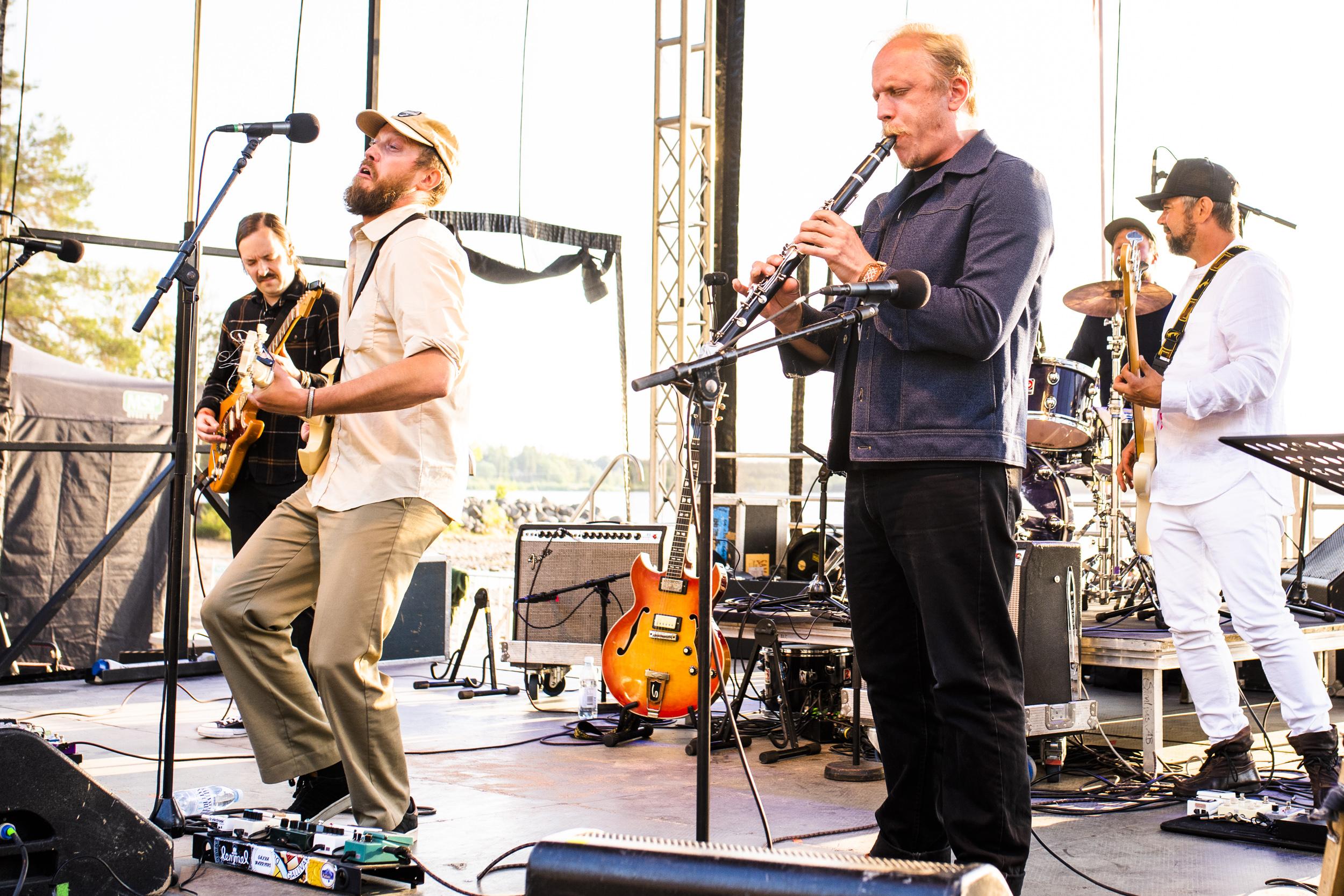 Johan Airijoki och Malmfältens Rockklubb gästade Musikens Makt 2019.