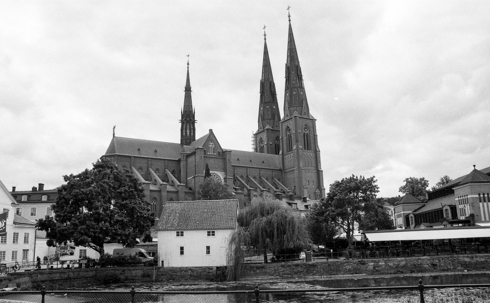 Uppsala kyrka, hyfsat pampig!