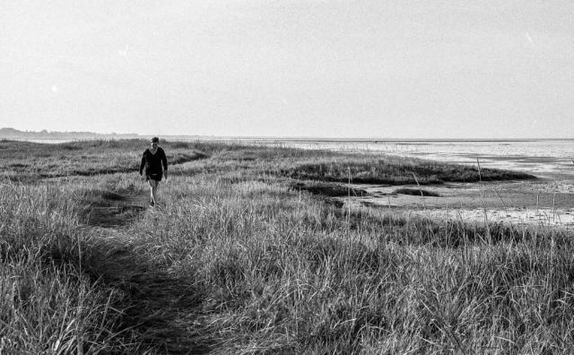 Promenad vid havet.