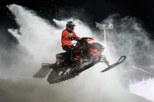 113 Jeanette Skoog, Malungs MK, Team Lundström Maskin. Lynx Skotercross. Boden Arena Super-X 2018.