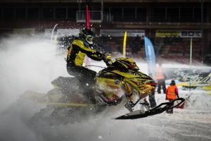 3 Matilda Norberg Njurunda MK. Ski-doo Skotercross. Boden Arena Super-X 2018.