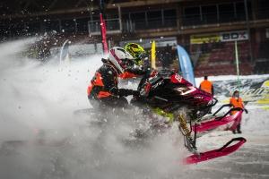 821 Fanny Wikström, Infjärdens RSK, Team Traktorcity/Crossfix. Skotercross. Boden Arena Super-X 2018.