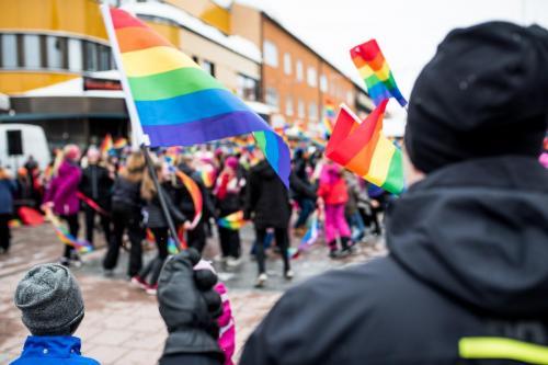 Första prideparaden i Boden, Northern Light Pride. 1