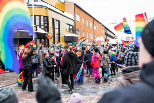 Första prideparaden i Boden, Northern Light Pride.