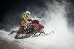 348 Carolina Wärn, Kart MK Finland. Lynx.  Skotercross. Boden Arena Super-X 2018.