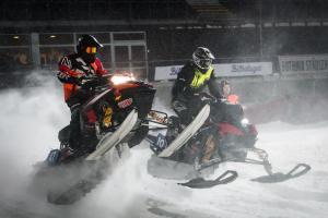 10 Anton Dahlqvist, Infjärdens RSK. Team E-son Maskin AB. Lynx. Skotercross. Boden Arena Super-X 2018.