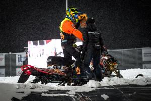 463 Mikko Osmo, Kauh MK www.loukko.com .Lynx Skotercross. Boden Arena Super-X 2018.