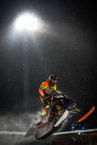 117 Pontus Lundström, Skellefteå MS, Team E-son Maskin AB. Lynx Skotercross. Boden Arena Super-X 2018.