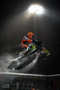 29 Balder Nääs, Team Walles MK. Arctic Cat Team Sweden Skotercross. Boden Arena Super-X 2018.
