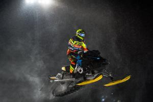 Skotercross. Boden Arena Super-X 2018.