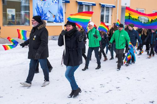 Första prideparaden i Boden, Northern Light Pride.