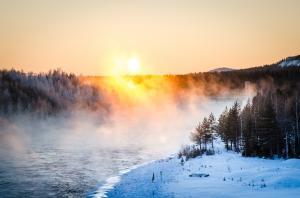 Dammen i minus 30