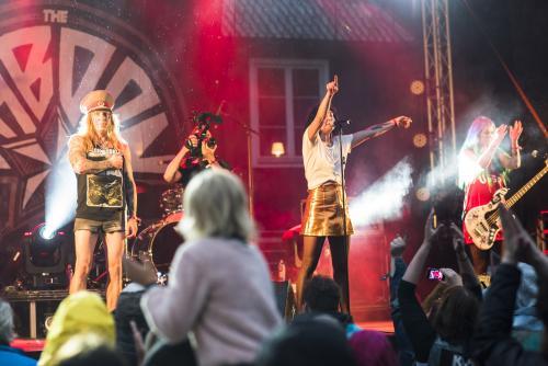 The Baboon Show-4964. Musikens makt Luleå 2018. Underbart band!