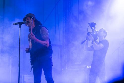 The Baboon Show-5006. Musikens makt Luleå 2018. Underbart band!