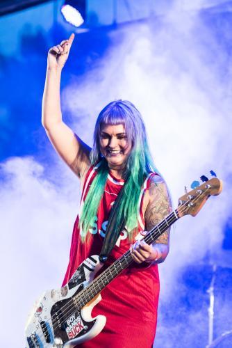 The Baboon Show-5032. Musikens makt Luleå 2018. Underbart band!
