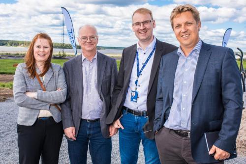 Invigning av Hybrit på SSAB:s industriområde i Luleå.