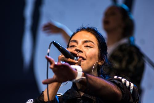 Maxida Märak på Musikens Makt 2018.