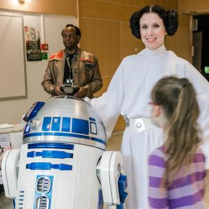 Leia och A2D2