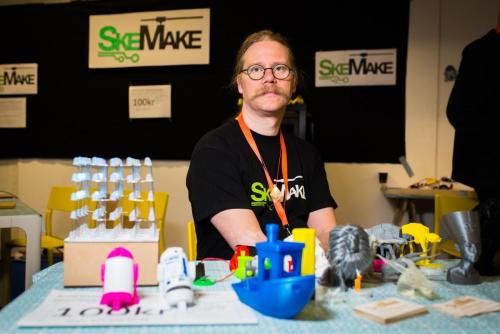 Skellefteå Makerspace. Nordsken 2018.