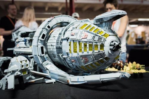 Serenity starship Legobygge i den högre skolan... Nordsken 2018.
