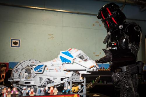 Serenity starship Legobygge i den högre skolan... Nordsken 2018. Och ? gav klartecken! Nordsken 2018.
