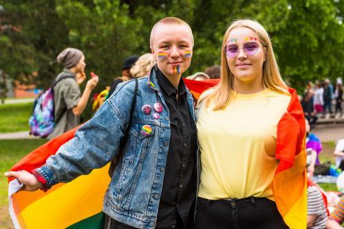Luleå Pride 2018.