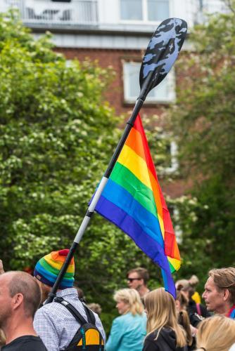 Alla medel är tillåtna! Luleå Pride 2018.