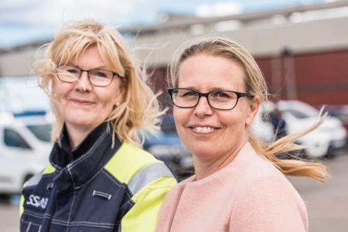 Eva Petursson, LKAB och? SSAB.