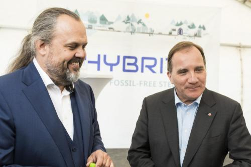 Mårten Görnerup vd, Hybrit och Stefan Löfven.