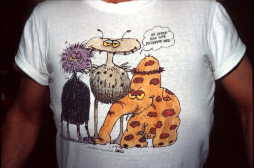 Janne Dahlgrens tröja, bäst.