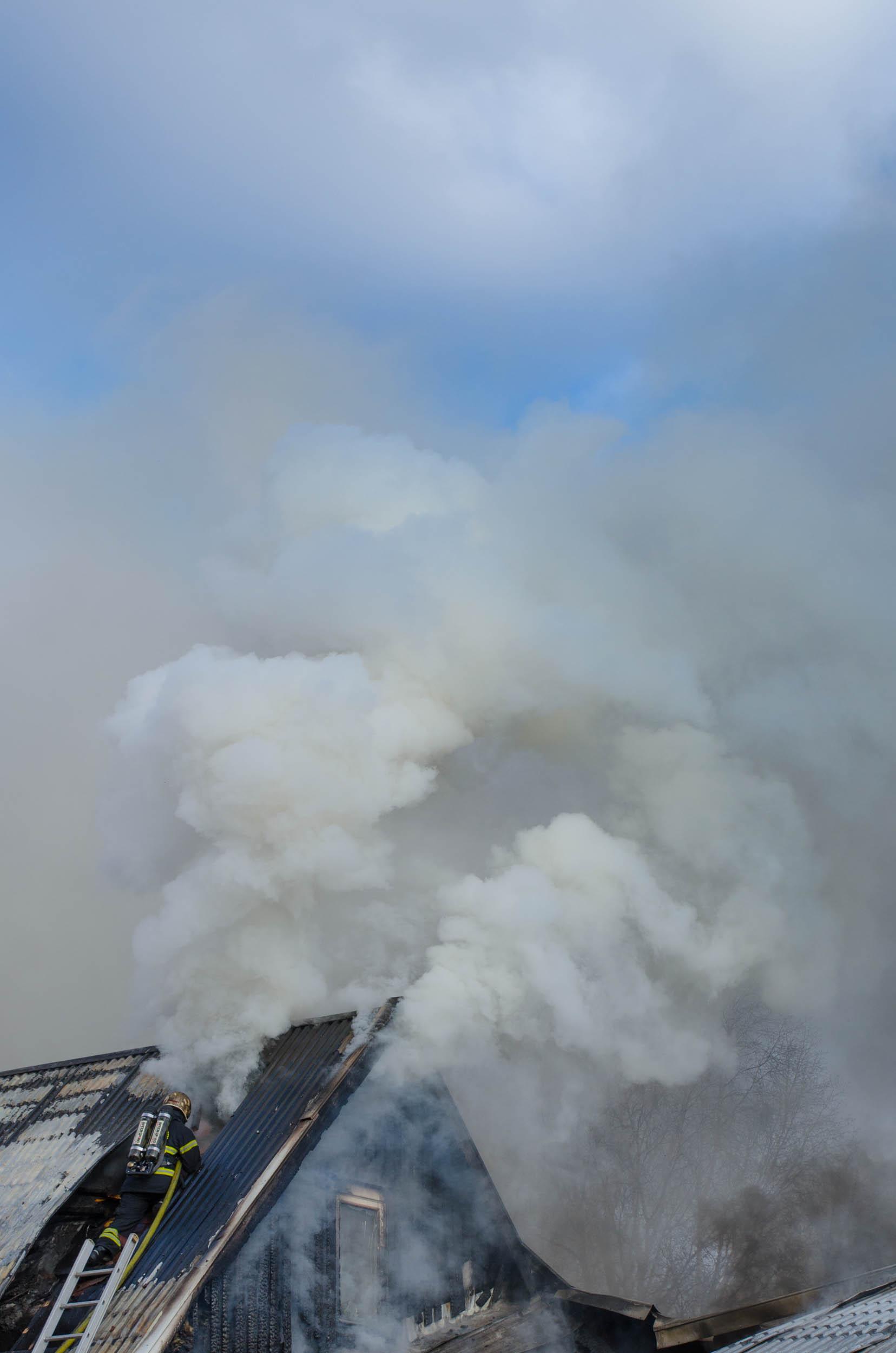 Brand Morotsvägen Sävast