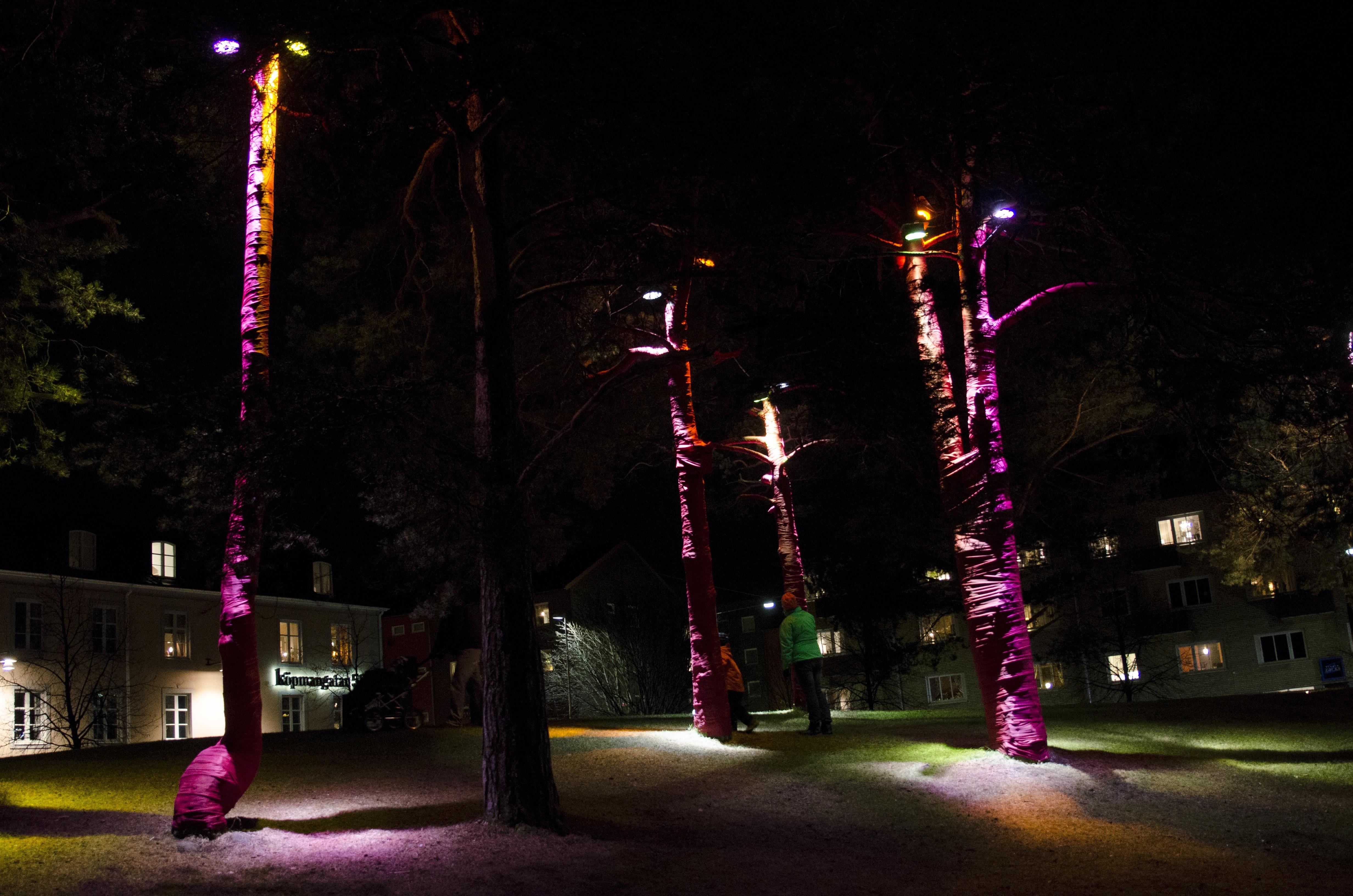 Ljusfestivalen 2013 i Luleå