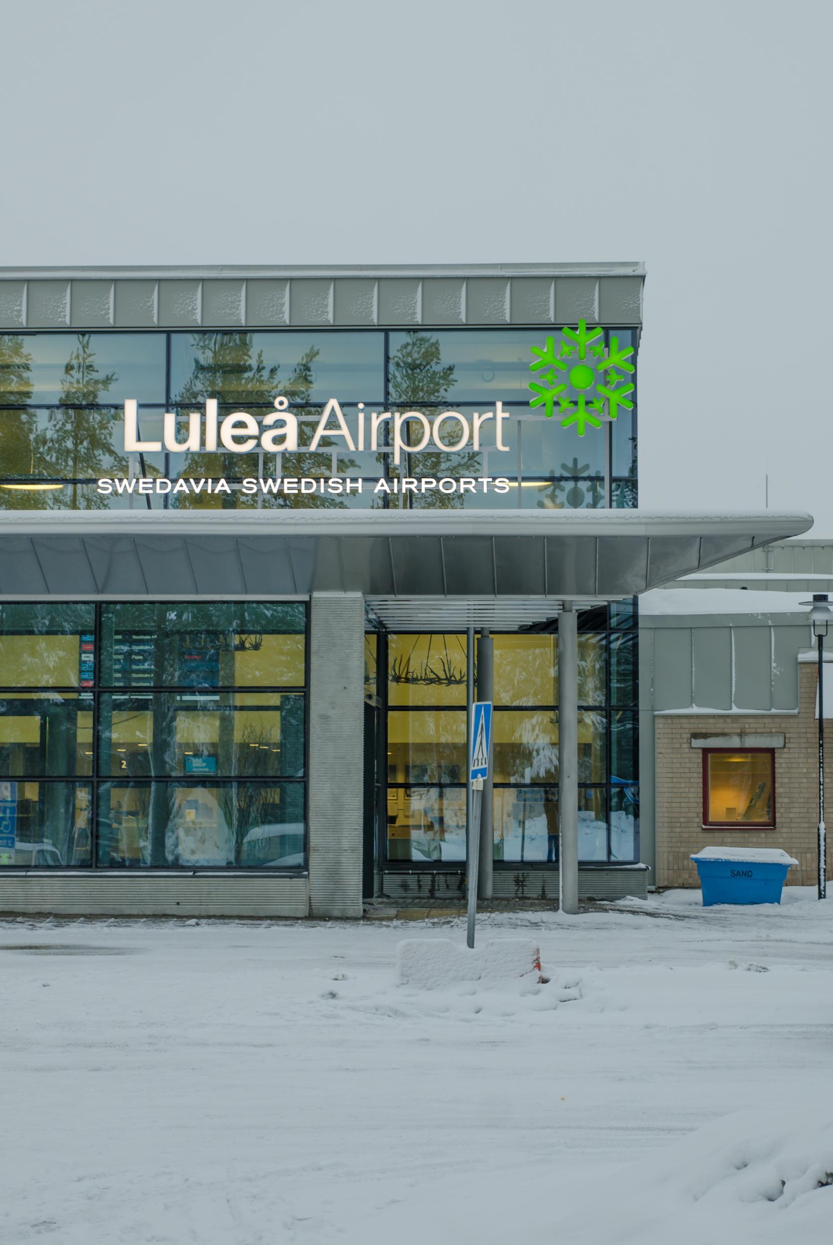 Luleå Airport i samband med Luleå - Alla hjärtans stad