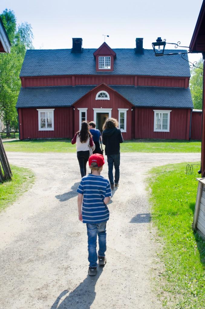 Mysiga Svandammen i Skellefteå