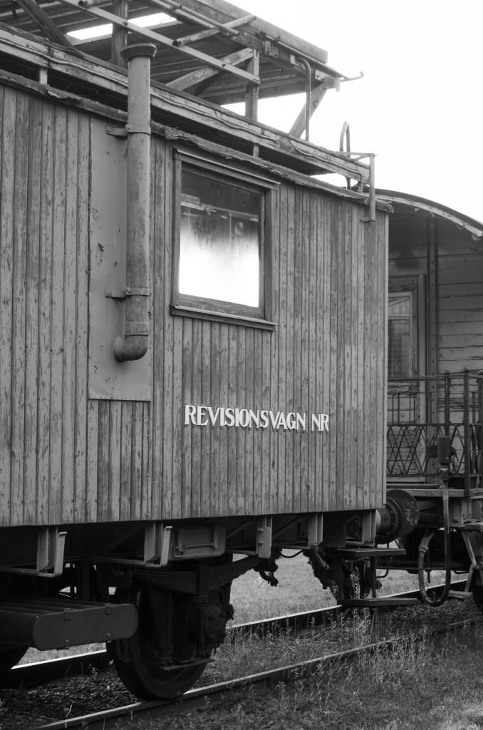 Järnvägsmuseet i Karlsvik, Luleå. Fantastiskt fint om man gillar gamla mekaniska grejor. Revisionsvagn... man kan riktigt höra räkneapparaterna rassla och plinga där inne, och var det inte en grön keps som swischade förbi därinne?