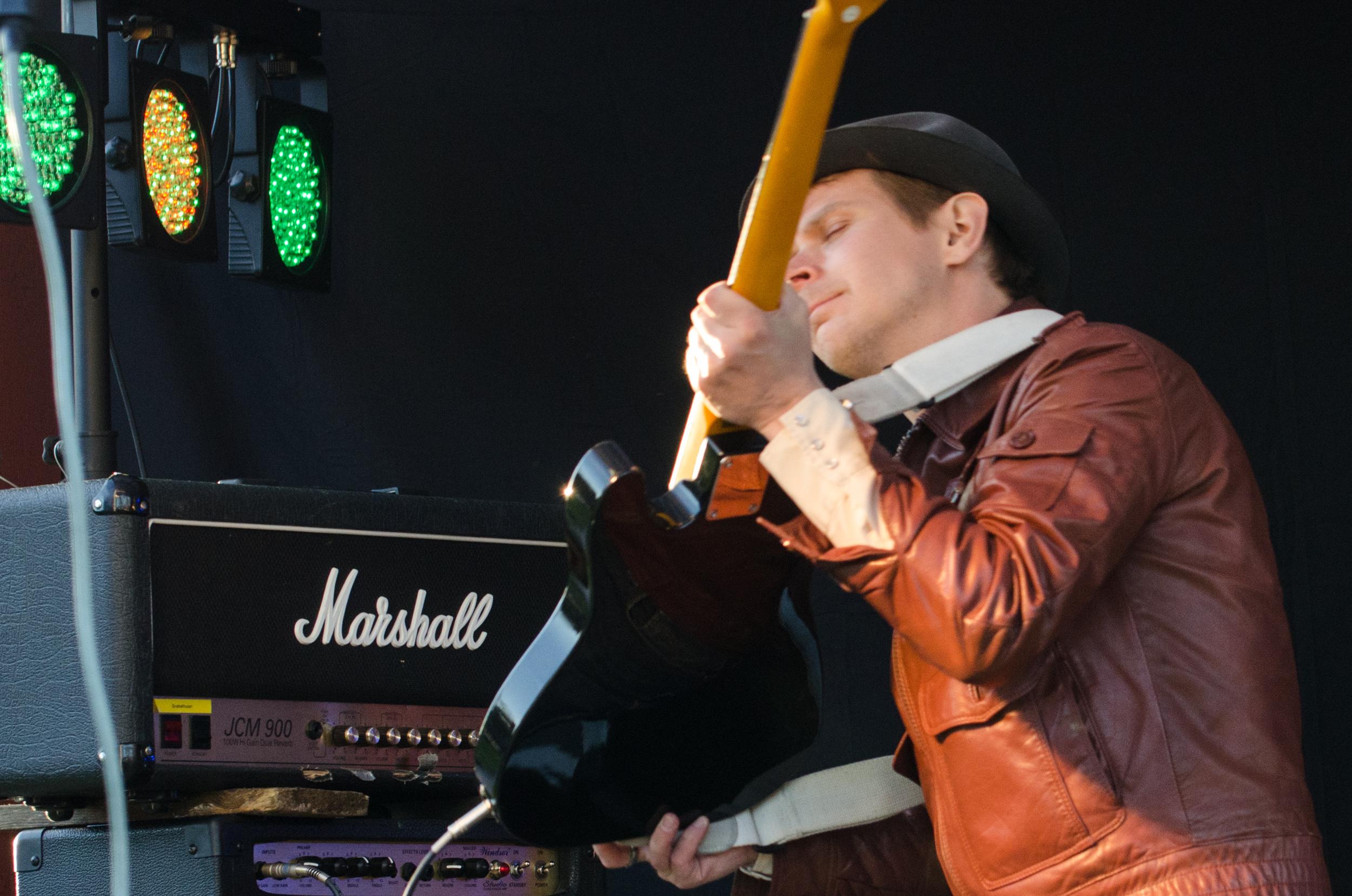 Cocodrilo Cuervo på Kläppenfestivalen i Boden
