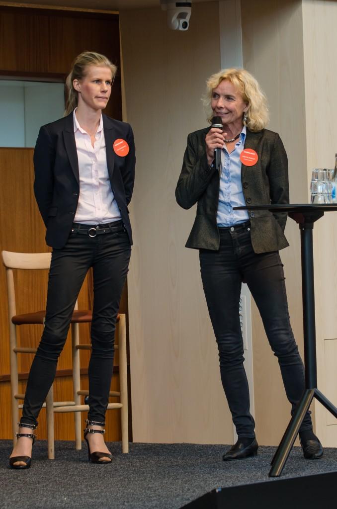 Mineralriket Luleå 2014 i Vetenskapens hus. Kerstin Brinnen, SveMin samt Kerstin Cederlöf, Naturvårdsverket.