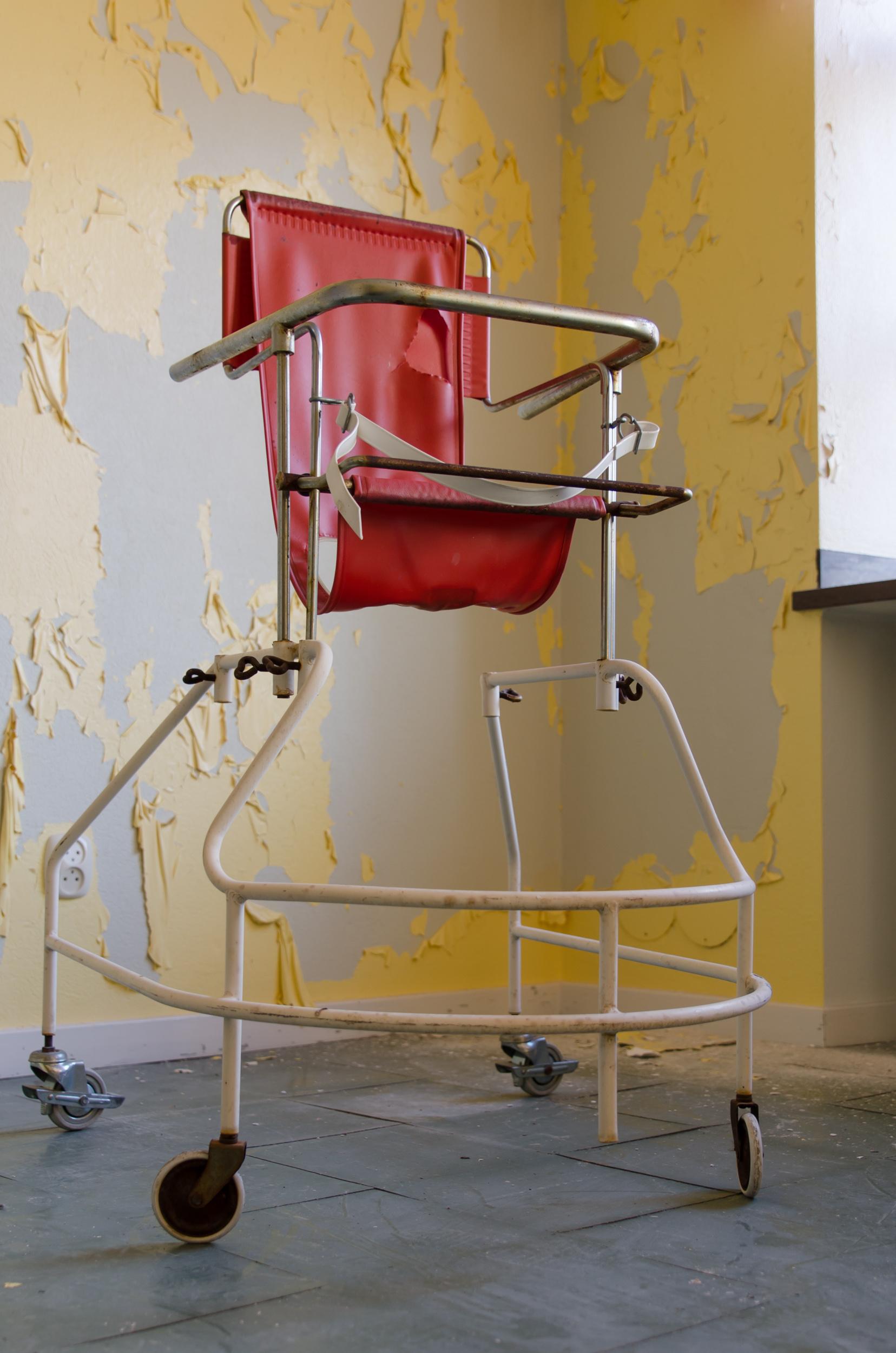 Sandträsk sanatorium. Creepy...